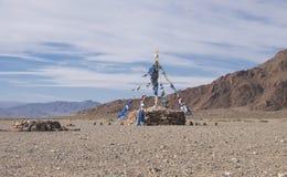 Stone Buddhist monument Stock Images