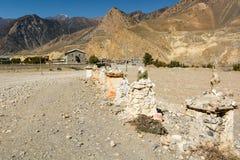 Stone buddhist shrines. Royalty Free Stock Image