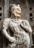 Stone buddhist statue Stock Images