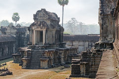 Stone building of the khmer empire Stock Photos