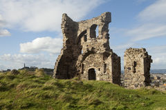 Stone Building Ruins Royalty Free Stock Photo