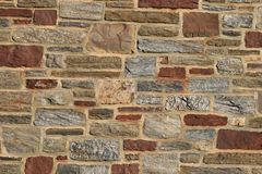 Stone building wall Royalty Free Stock Photography