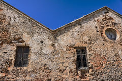 Stone buildings in the city of Chania Stock Photo