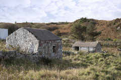 Stone Buildings In County Donegal Royalty Free Stock Photos