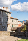 Stone buildings in the old town Royalty Free Stock Photos