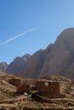 Stone buildings in Sinai Stock Photo
