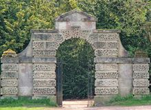 Stone Built Archway. Stock Photos