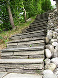 Stone built stairs  Stock Images