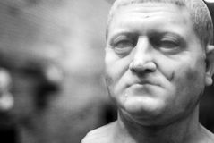 Stone bust of the National Museum of Roman Art Mérida Royalty Free Stock Photography