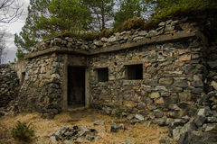 Stone cabin Royalty Free Stock Photo