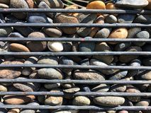The Stone in the cage stock photo