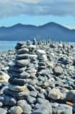 Stone Cairn Stock Images