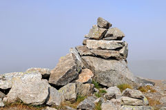 Stone cairn Stock Photos