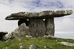 Stone Cairn Burren Ireland Royalty Free Stock Photo