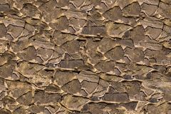 Stone canvas many sharp uneven stones background base hard weathering wide strips cement base coarse backing royalty free stock photography