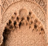 Stone carved arch Stock Image