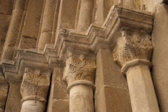 Stone carved decoration column Stock Photography