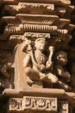 Stone carved erotic sculptures on JainTemples. Khajuraho Royalty Free Stock Image