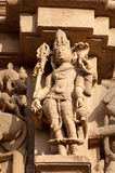 Stone carved erotic sculptures on JainTemples. Khajuraho Stock Photos