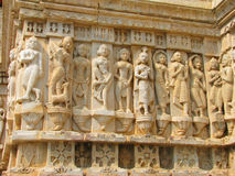 Stone carved erotic sculptures in Udaipur Royalty Free Stock Photography