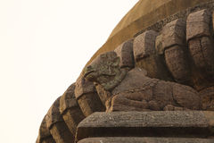 Stone Carved Nandi Royalty Free Stock Image