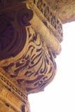 Stone carved pillar Royalty Free Stock Photos