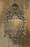 Stone Carved Shield Royalty Free Stock Image
