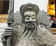 Stone carved statues. Art of Ancient China Stock Photo