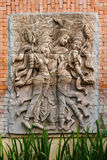 Stone carved thai style Stock Images