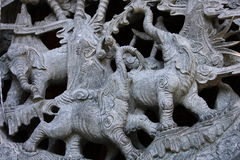 Stone carving Stock Image