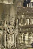Stone Carving, Angkor Wat, Cambodia Stock Photography