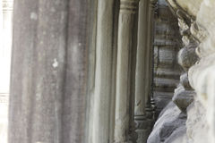 Stone Carving, Angkor Wat, Cambodia Royalty Free Stock Image