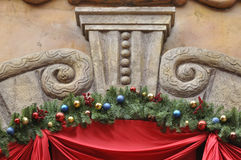 Stone carving architecture detail and decoration Royalty Free Stock Image