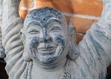 Stone Carving of Buddha Stock Photo