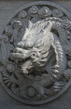 Stone carving dragon Stock Images
