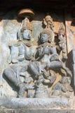 Stone Carving At Halebedu, Karnataka, India Royalty Free Stock Image