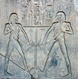 Stone carving at the Luxor Temple. Egypt Royalty Free Stock Photos