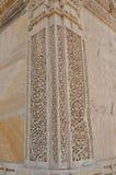 Stone carving at Nagina masjid (mosque), chapaner, Gujarat Royalty Free Stock Photos