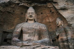 Stone Carving Of Yungang Grottoes 101 Royalty Free Stock Photography