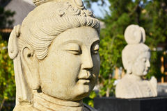 Stone carving portrait Royalty Free Stock Photo