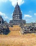 Stone carving of Prambanan Hindu temple, Yogyakarta,  Java Stock Photos