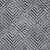 Stone carving seamless texture with geometric pattern. 3d illustration Royalty Free Stock Images