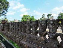 Stone Carving wall. In Bali royalty free stock images