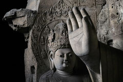 Stone Carving of Yungang 13 Royalty Free Stock Photography