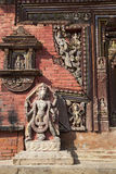 Stone Carvings at Changu Narayan Temple, Nepal Stock Photos