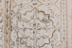 Stone Carvings on Wall Royalty Free Stock Images