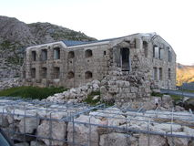 Stone castel Stock Photo