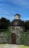 Stone Castle Dovecote Illustration Stock Images