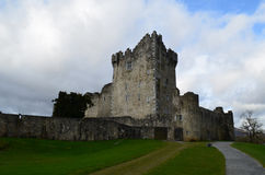Stone Castle in Killarney National Park Known as Ross Castle Royalty Free Stock Photo
