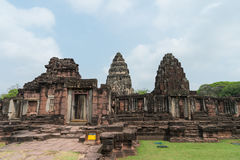 Stone Castle in Phimai Historical Park ,Nakhon Ratchasima, THAILAND. Stock Photography